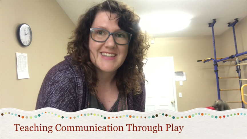 snapshot of video - communication through play